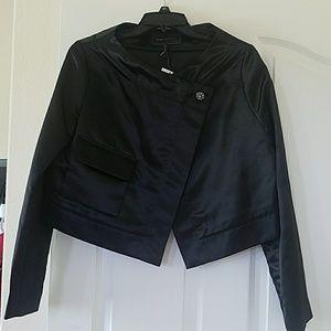 BCBG NEW Black Cropped Jacket
